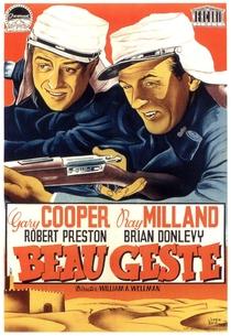 Beau Geste - Poster / Capa / Cartaz - Oficial 4