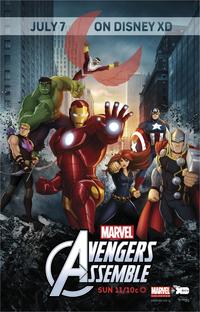 Os Vingadores Unidos (1ª Temporada) - Poster / Capa / Cartaz - Oficial 1