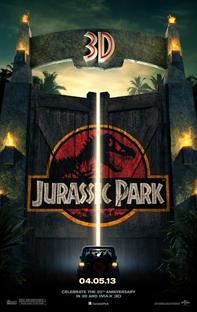 Jurassic Park - O Parque dos Dinossauros - Poster / Capa / Cartaz - Oficial 3