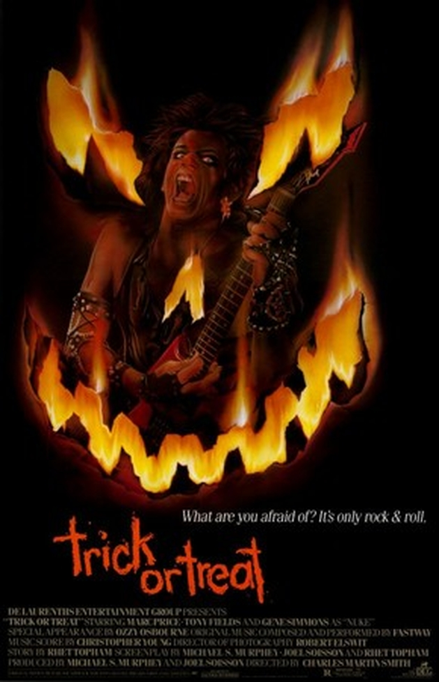 Dicas de Filmes Rock com Cafeína - Heavy Metal do Horror (1989, Trick or Treat)