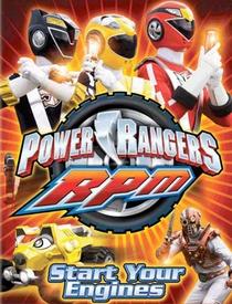 Power Rangers R.P.M. - Poster / Capa / Cartaz - Oficial 1