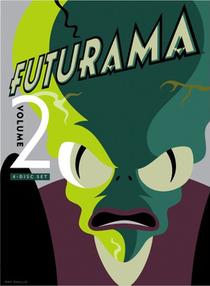 Futurama (2ª Temporada) - Poster / Capa / Cartaz - Oficial 3