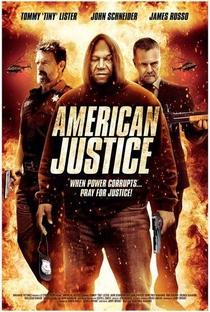 American Justice - Poster / Capa / Cartaz - Oficial 1