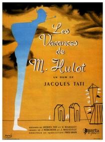As Férias do Sr. Hulot - Poster / Capa / Cartaz - Oficial 1