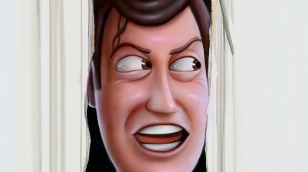 """Artista recria """"O Iluminado"""", de Kubrick, com os personagens de Toy Story 3"""