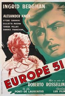 Europa '51 - Poster / Capa / Cartaz - Oficial 6