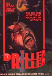 O Assassino da Furadeira - Poster / Capa / Cartaz - Oficial 8