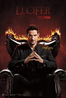 Lucifer (3ª Temporada) - Poster / Capa / Cartaz - Oficial 1