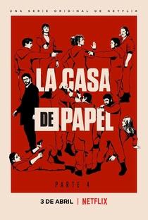 La Casa de Papel (Parte 4) - Poster / Capa / Cartaz - Oficial 2