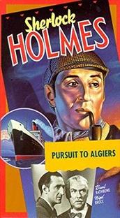 Sherlock Holmes - Desforra em Argel - Poster / Capa / Cartaz - Oficial 3