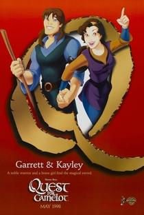 A Espada Mágica - A Lenda de Camelot - Poster / Capa / Cartaz - Oficial 5