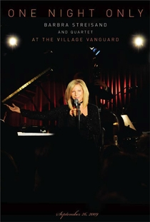 One Night Only: Barbra Streisand and Quartet at the Village Vanguard - Poster / Capa / Cartaz - Oficial 1