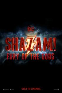 Shazam! - Fúria dos Deuses - Poster / Capa / Cartaz - Oficial 1