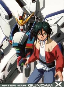 After War Gundam X - Poster / Capa / Cartaz - Oficial 1