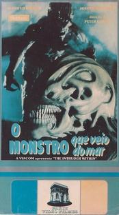 O Monstro Que Veio do Mar - Poster / Capa / Cartaz - Oficial 2