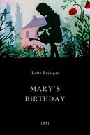 Mary's Birthday (Mary's Birthday)