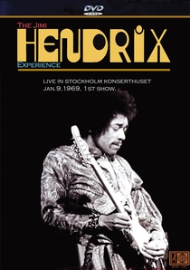 Jimi Hendrix Experience - Live in Stockholm - Poster / Capa / Cartaz - Oficial 1