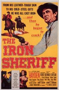 O Xerife de Ferro - Poster / Capa / Cartaz - Oficial 1