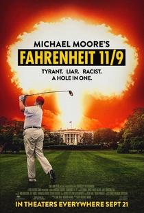 Fahrenheit 11/9 - Poster / Capa / Cartaz - Oficial 1