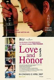 Honra de Samurai - Poster / Capa / Cartaz - Oficial 3