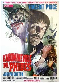 O Abominável Dr. Phibes - Poster / Capa / Cartaz - Oficial 6