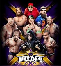 WWE Wrestlemania XXX (30) - Poster / Capa / Cartaz - Oficial 1
