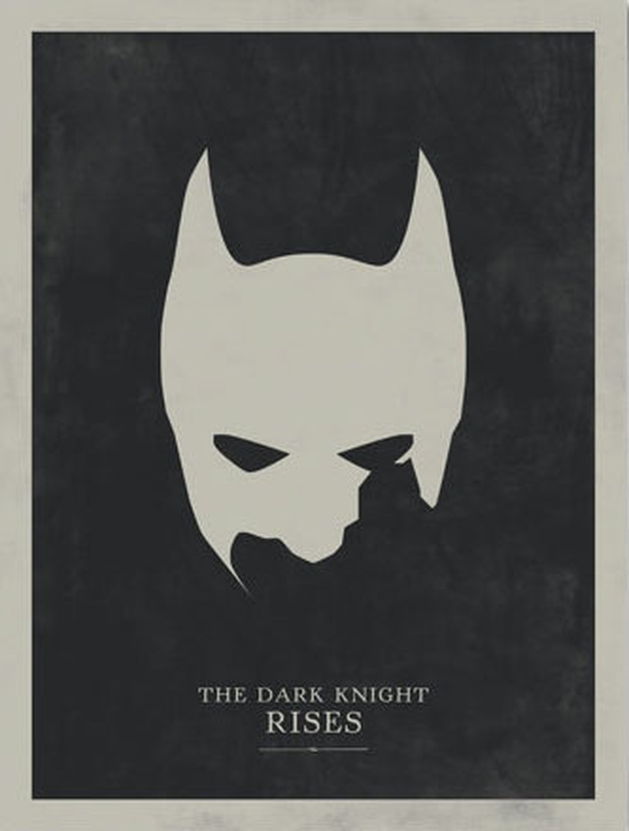 Batman - Posters Minimalistas