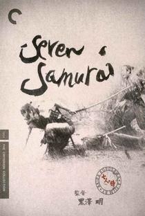 Os Sete Samurais - Poster / Capa / Cartaz - Oficial 29