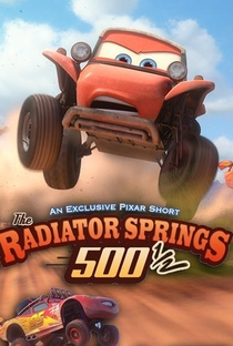 As 500 ½ de Radiator Springs - Poster / Capa / Cartaz - Oficial 2