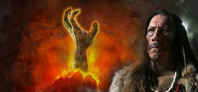 Danny Trejo enfrenta zumbis cobertos de lava em Volcano Zombies