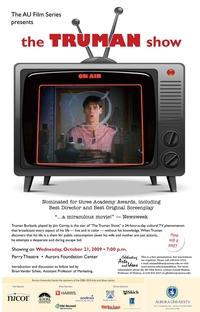 O Show de Truman - Poster / Capa / Cartaz - Oficial 7