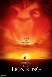 O Rei Leão - Poster / Capa / Cartaz - Oficial 3