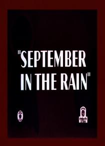 September in the Rain - Poster / Capa / Cartaz - Oficial 1