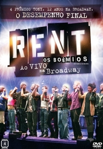 Rent - Os Boêmios: Ao Vivo na Broadway - Poster / Capa / Cartaz - Oficial 3