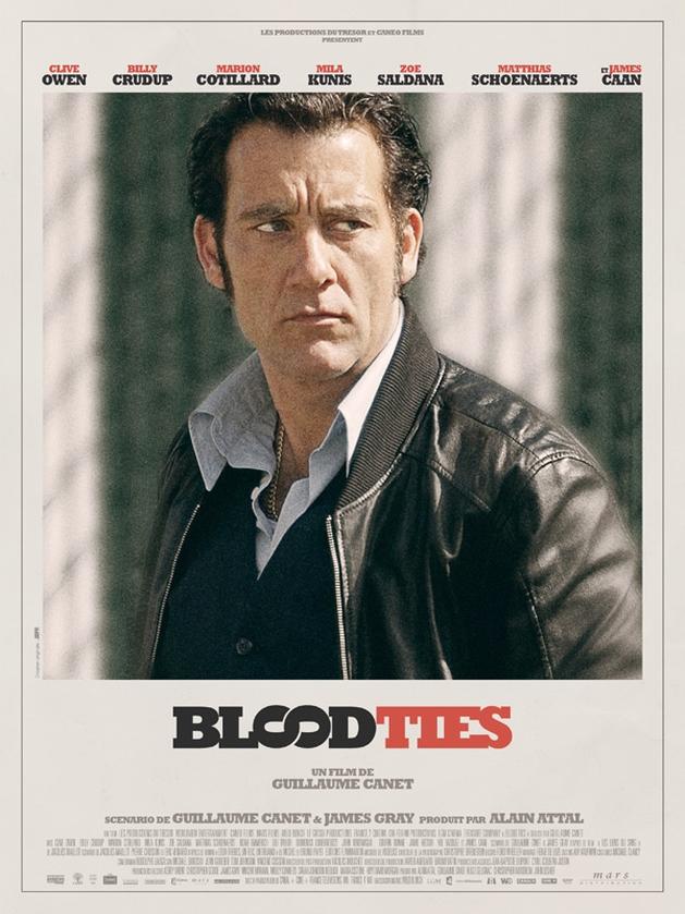 Blood Ties | Novas imagens e posteres individuais do suspense com Clive Owen e Marion Cotillard
