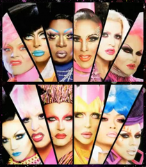 Untucked: RuPaul's All-Stars Drag Race - Poster / Capa / Cartaz - Oficial 1