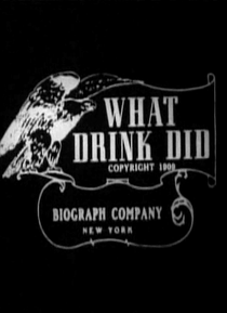 What Drink Did - Poster / Capa / Cartaz - Oficial 1