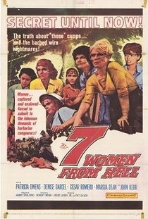 Sete Mulheres no Inferno - Poster / Capa / Cartaz - Oficial 1
