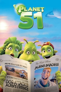 Planeta 51 - Poster / Capa / Cartaz - Oficial 9