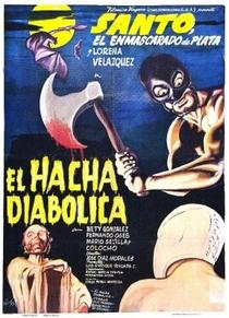 Santo Vs. Machado Diabólico - Poster / Capa / Cartaz - Oficial 1
