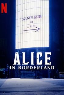 Alice in Borderland (1ª Temporada) - Poster / Capa / Cartaz - Oficial 3