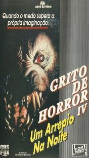 Grito de Horror IV - Um Arrepio na Noite - Poster / Capa / Cartaz - Oficial 3