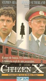 Cidadão X - Poster / Capa / Cartaz - Oficial 2