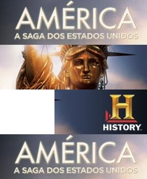 America: A Saga dos Estados Unidos - Poster / Capa / Cartaz - Oficial 1