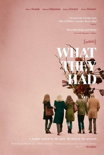 What They Had - Poster / Capa / Cartaz - Oficial 1