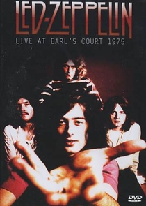 Led Zeppelin live at Earl's Court 1975 - Poster / Capa / Cartaz - Oficial 1