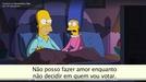Simpsons - Decidindo o voto para presidente dos EUA (Simpsons - Decidindo o voto para presidente dos EUA)