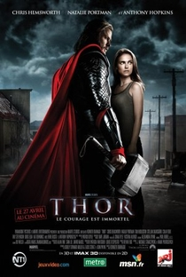 Thor - Poster / Capa / Cartaz - Oficial 6