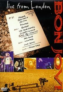 Bon Jovi - Live From London - Poster / Capa / Cartaz - Oficial 1