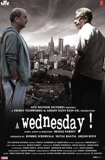 A Wednesday - Poster / Capa / Cartaz - Oficial 2